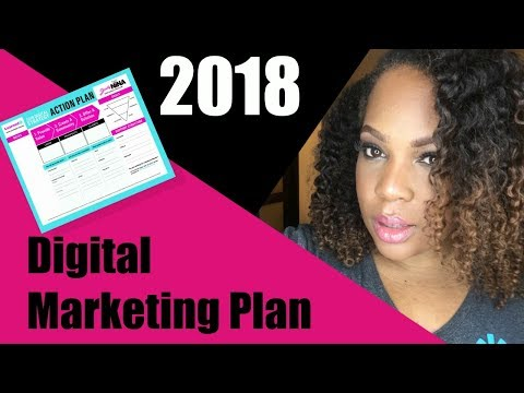 Marketing Trends - How to create a Digital Marketing Strategy for 2018 | Download Action Plan