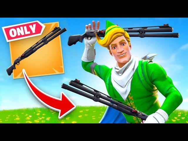 Combat Shotgun *ONLY* Challenge (Fortnite) #1