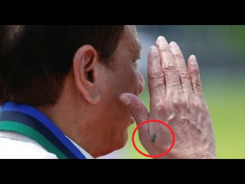 The Meaning Behind President Duterte's Right Hand Tattoo Finally Revealed