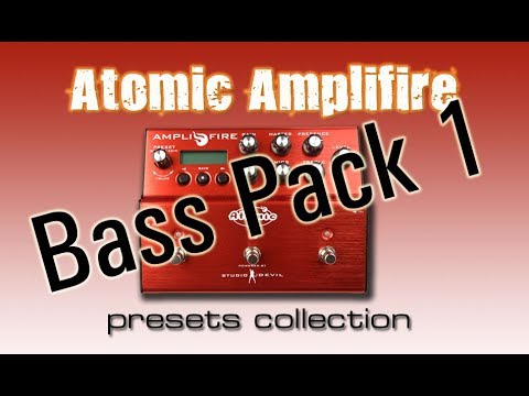 Atomic Amplifire bass pack 1 demo