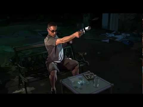Home made silencer -  (from the movie, 'A Scanner Darkly.')