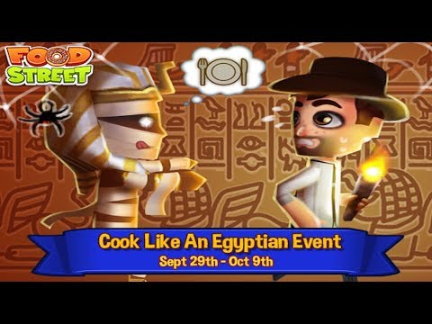Food Street Live - Goodbye Egypt, Hello Vampires and Ghosts
