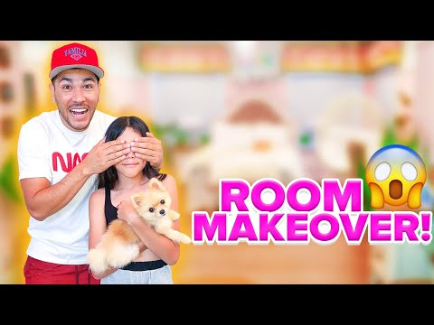 WE SURPRISED HER WITH AN EXTREME ROOM TRANSFORMATION 2020!!! **INSANE**