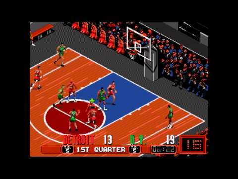David Robinson Basketball ... (Sega Genesis)