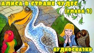 Аудиосказка Алиса в стране чудес. Глава 3 в которой пр