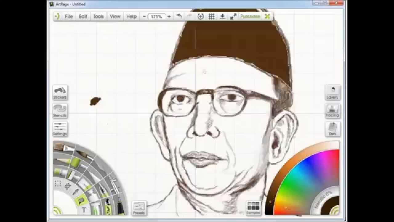 Menggambar Ki Hajar Dewantara Biografi Ki Hajar Dewantara Dalam