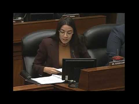 Rep. Ocasio-Cortez examine the Gilead's pricing for an HIV prevention drug known as Truvada for PrEP