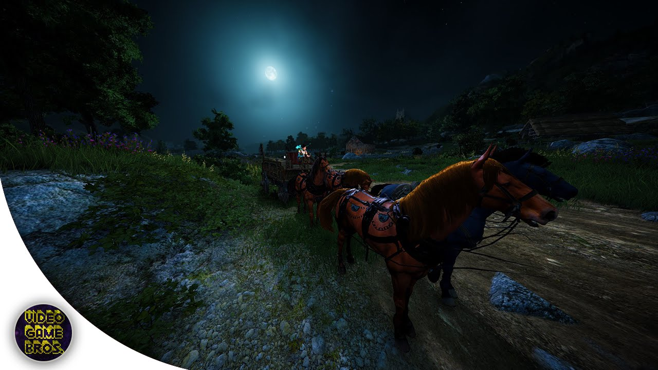 Black Desert Online - Merchant Wagon Crafting Guide - New Mediah ...