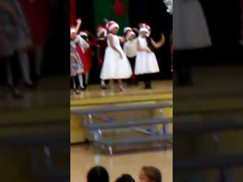 2016 Christmas performance at Manhattan Place Elementary School
