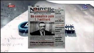 LA REVUE DES GRANDES UNES EQUINOXE TV DU LUNDI 23 AVRIL 2018
