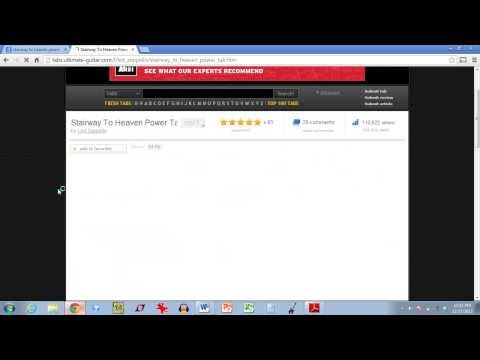 Where to Download Song Files (.ptb) for Power Tab Editor from YouTube · Duration:  8 minutes 26 seconds