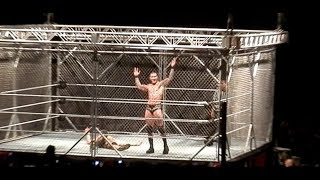 randy orton c vs john cena steel cage match for wwewhc