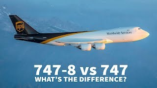 747-8 vs 747-400 | WHAT'S THE DIFFERENCE?