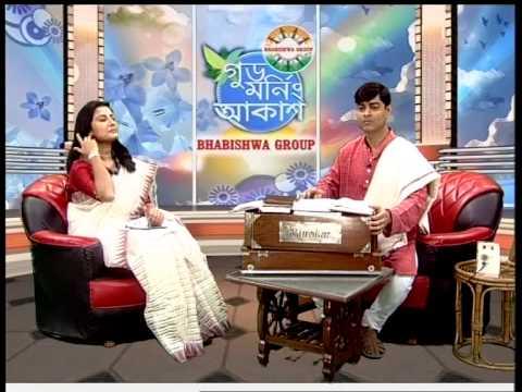 Ghazal - Tapash Datta. &    Bengali song - Tapash Datta . Live Programme at Akash Bangla TV