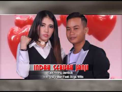INDAH SEBUAH JANJI - VIA VALLEN feat. ARGA WILIS [SAKURA RECORD INDONESIA]