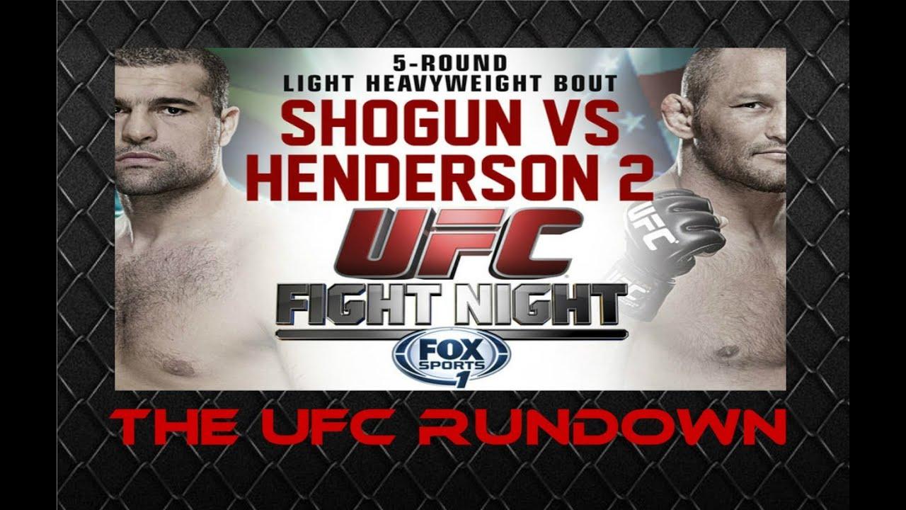 The UFC Rundown: UFC Fight Nig...