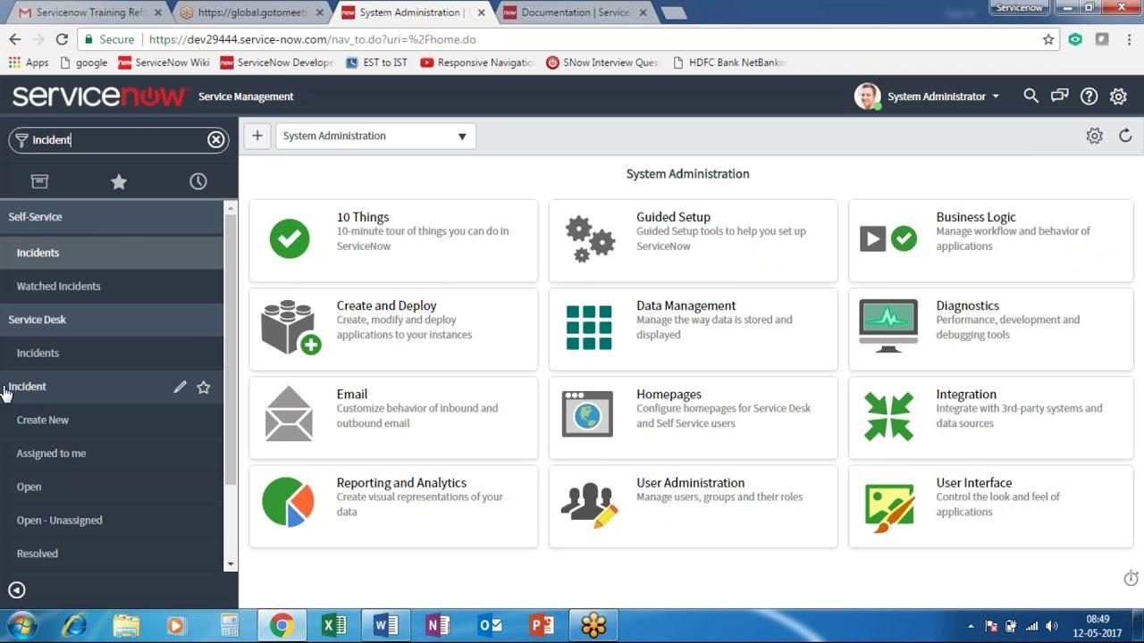 Best ServiceNow Developer training online|FREE DEMO|Best