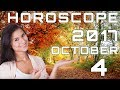 Today's Daily Horoscope 4 October 2017 Each Zodiac Signs