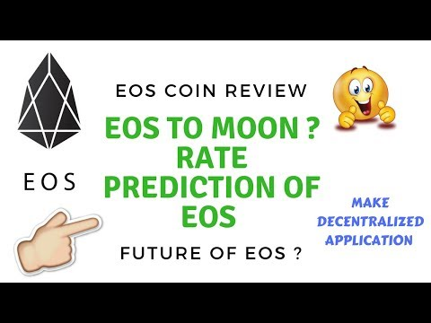 EOS RATE TO MOON ? WHAT IS FUTURE OF EOS ? RATE PREDICTION