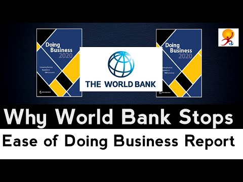 Why World Bank Stops Ease of Doing Business Report ?