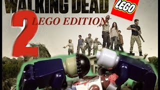 The Walking Dead Lego stopmotion, season 1 ep 1 - 2