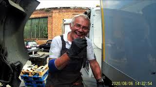 Wymiana Silnika w ciężarówce   Truck engine replacement....