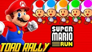 Super Mario Run - Toad Rally (All Characters)