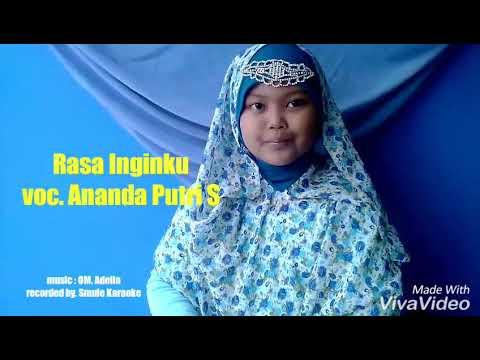 Rasa Inginku   Covered By Ananda Putri   Smule Karaoke