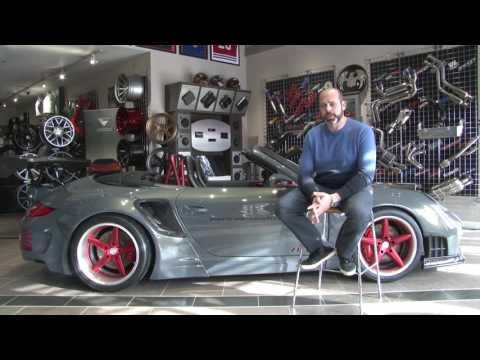 Porsche 911 Wide Body | SEMA 2016 | CQuartz Finest
