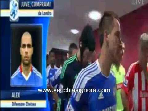 """Intervista ad Alex: """"Juve chiamami e lascio il Chelsea"""""""