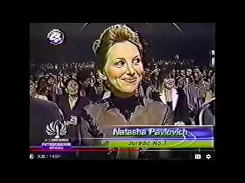 Natasha Pavlovich Judge at Miss Universe