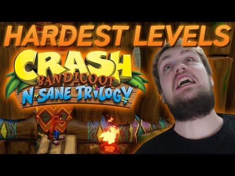 Top 5 Hardest Crash Bandicoot N. Sane Trilogy Levels