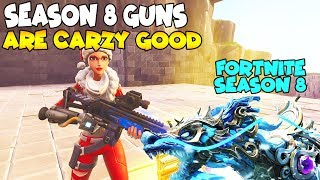 So He Actually Has Season 8 Guns 😱 Must Watch (Scammer Gets Scammed) Fortnite Save The World