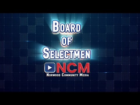Board Of Selectmen 10/27/20