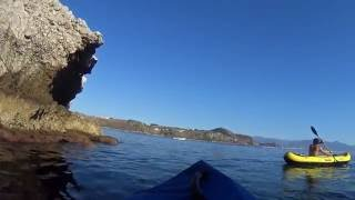 wonderful place capo milazzo in kayak amazing sea