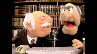 Blech | Internet Trolling with Statler & Waldorf | The Muppets