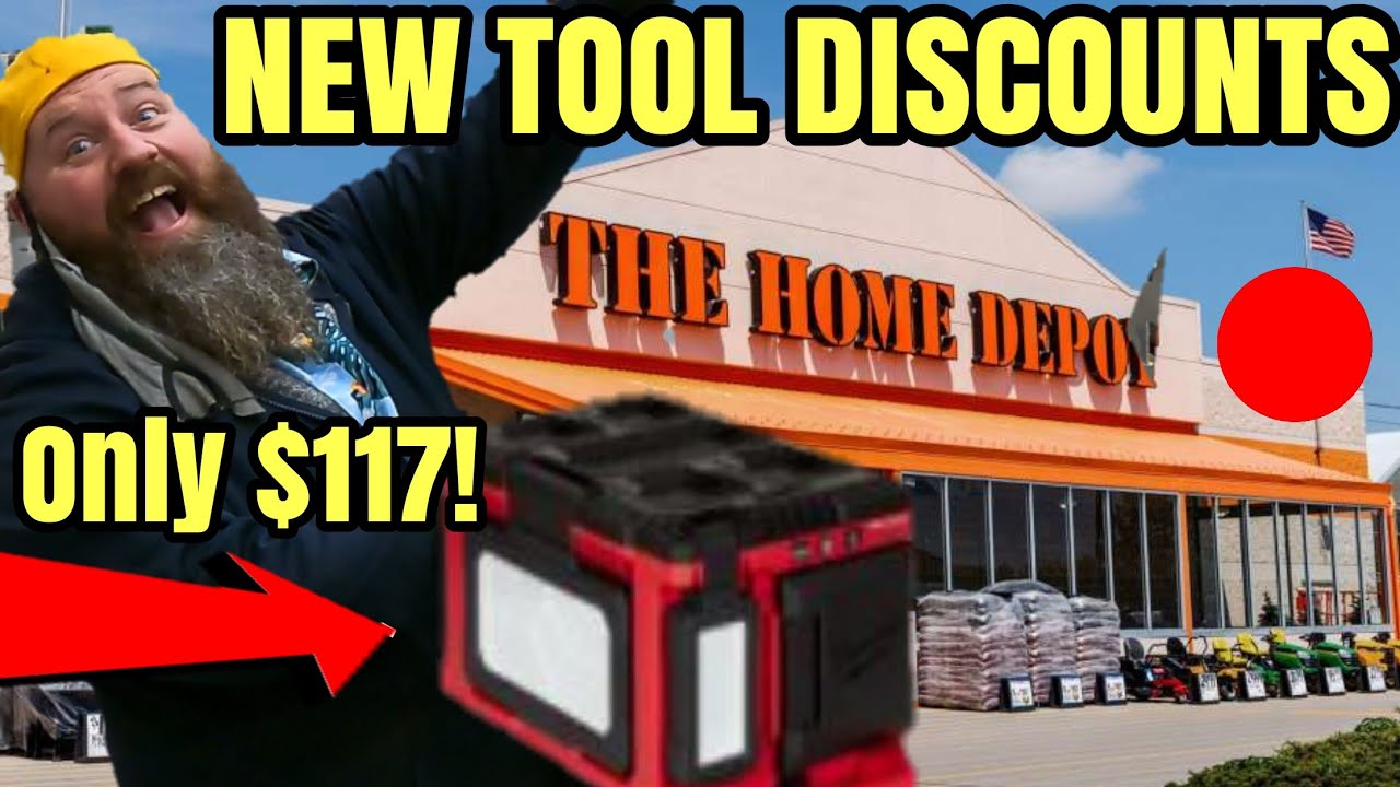 Top 10 Home Depot New Tool Deals BOGO Freebies & Hacks OH MY!