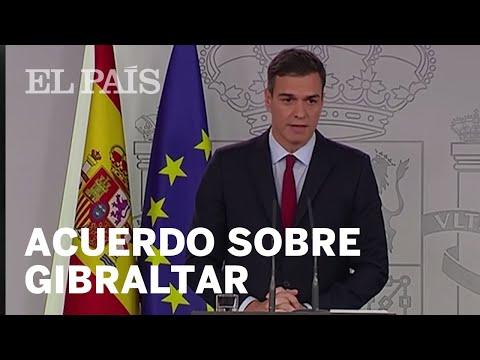 España alcanza un acuerdo sobre Gibraltar y anuncia que votará sí al Brexit