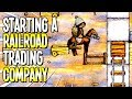 One Hour One Life: STARTING AN EPIC RAILROAD TRADING COMPANY - One Hour One Life Gameplay