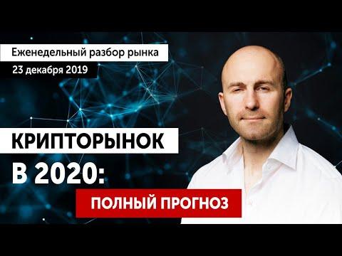 🔴 Прогноз биткоин 2020. Будет ли рост Биткоина до Нового Года? Live-разбор ТОП-10 криптовалют.