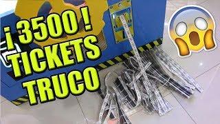 Como ganar 3500 tickets en 15 minutos | Truco fácil