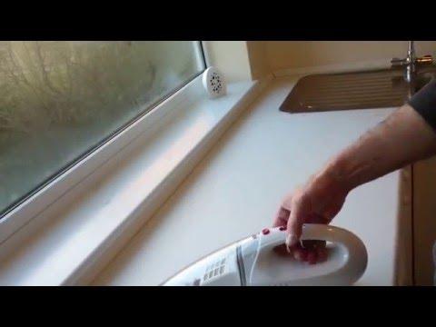 Argos value range hand held vacuum cleaner 4.8 v 30 watt model Demo