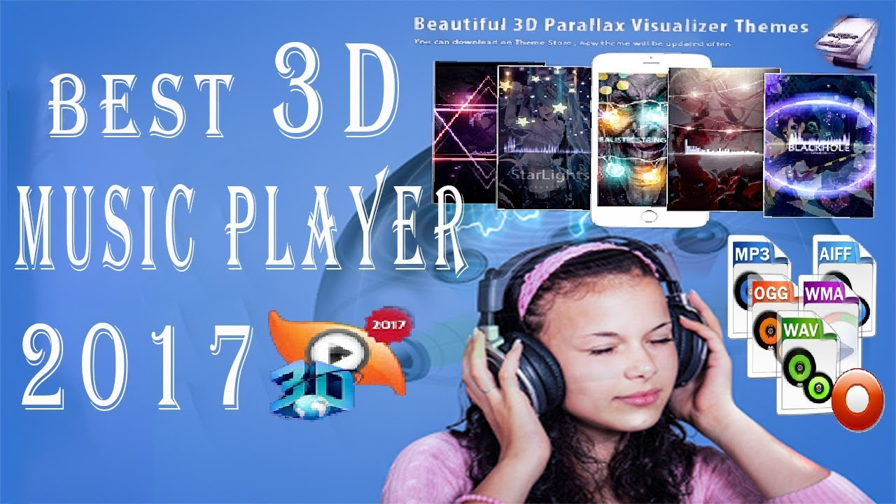 Best 3D music player app for android mobile 2017 ||Mp3 Audio Player||3D  surrounding effect in telugu