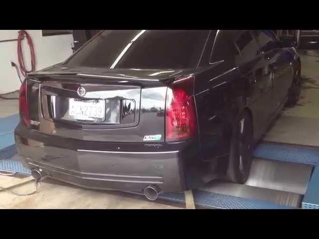 Cadillac CTS-V Dyno Pull