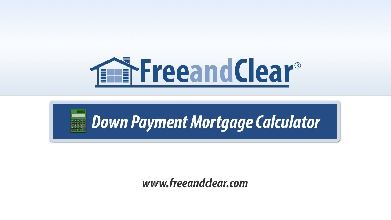 Down Payment Calculator >> Down Payment Calculator Video