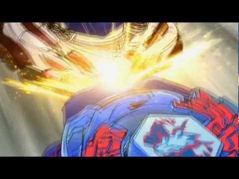 Beyblade AMV: Galaxy Pegasus vs Meteo L'Drago (Flash-Back) In The End (HD1080p)