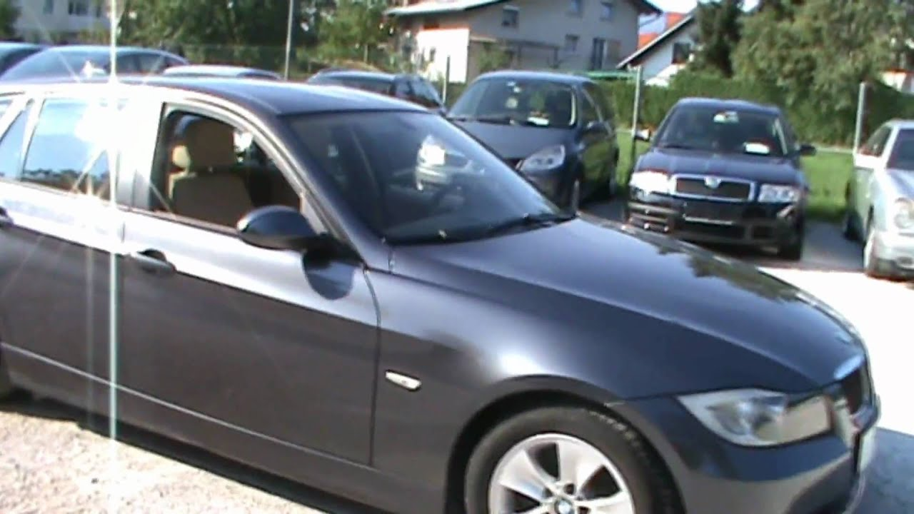 2007 BMW 320d Touring Full Review,Start Up, Engine, and In Depth ...