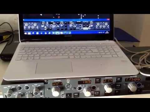 Boeing 737 Mcp and efis for sale. Prosim test