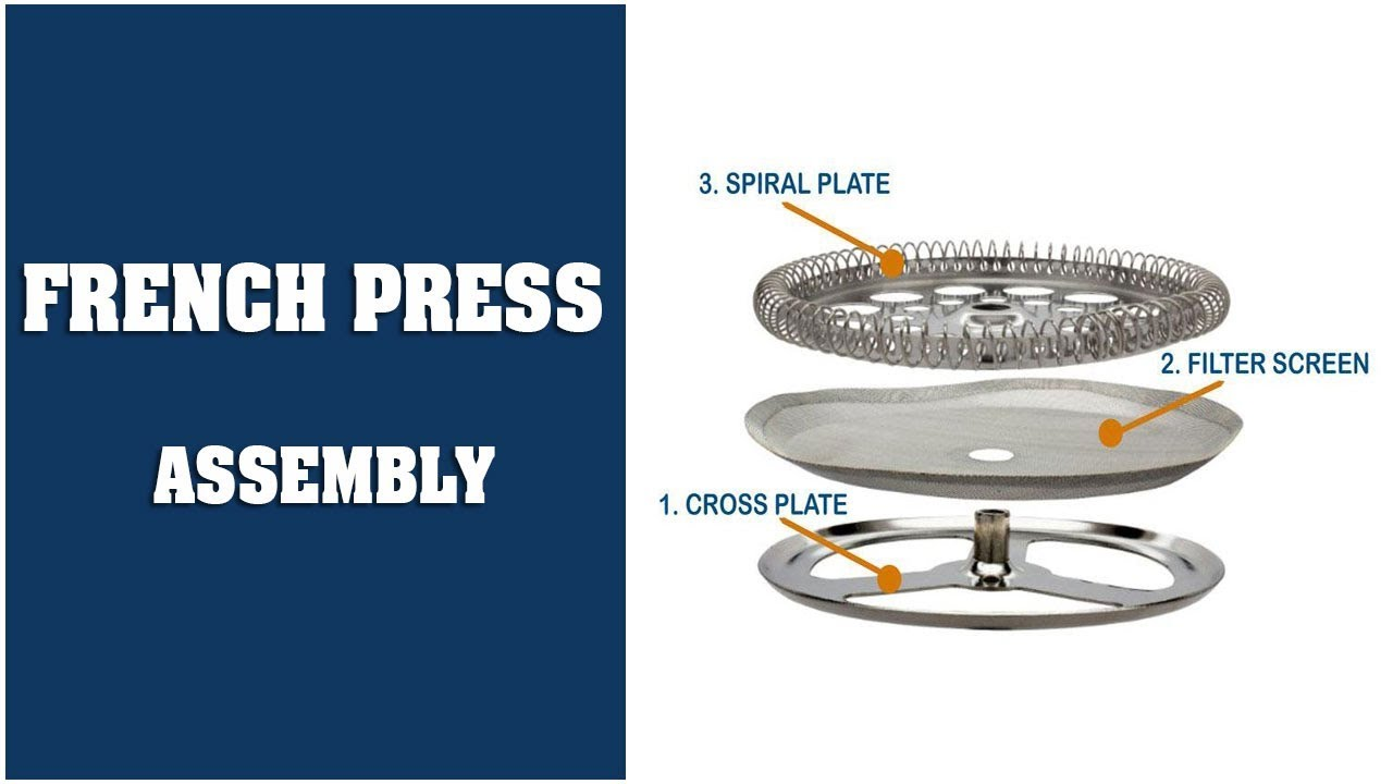 Bodum 3 Cup Replacement Spiral Plate