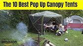 AmazonBasics Pop-Up Canopy Tent - 10 x 10 ft - YouTube